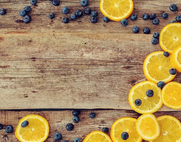 おいしいオレンジ色の背景