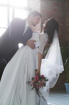 結婚式、新郎新婦