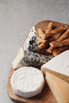 ボード上のチーズ