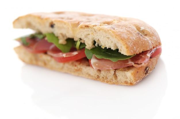 Вкусный бутерброд