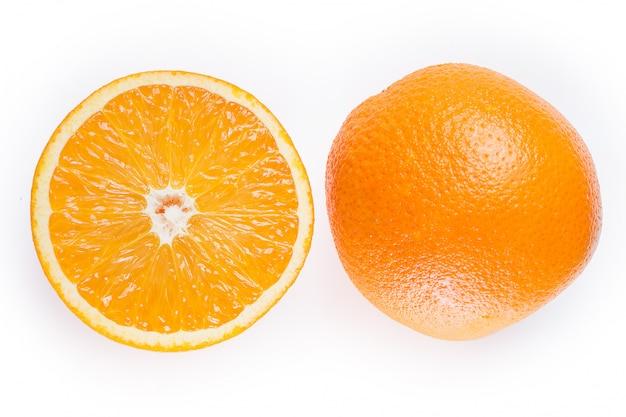 スライスしたオレンジ
