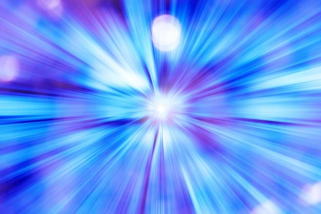 未来的な青い光の背景
