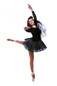 美しいバレリーナダンスバレエダンス
