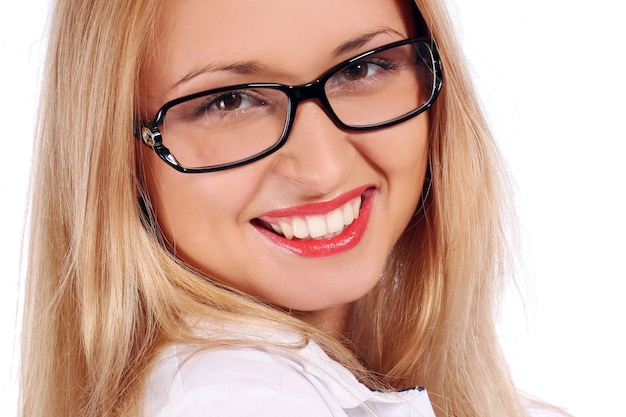 Красивая молодая и привлекательная женщина