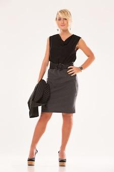 ビジネス服の女性