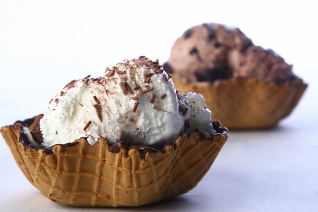 砂漠のアイスクリーム