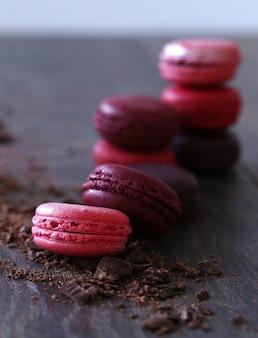 Сладкая сладкая конфета с шоколадом