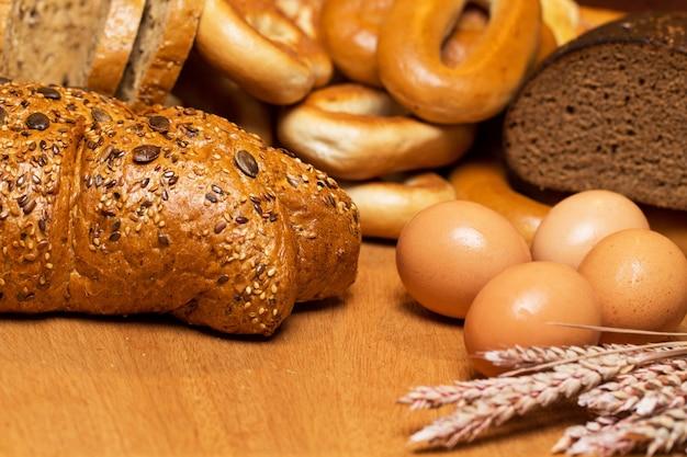 良い小麦から作られたおいしいパン