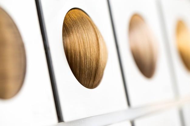 Варианты тона волос