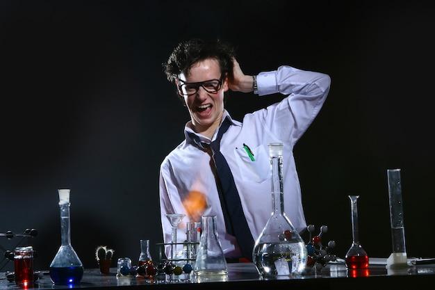 科学実験化学実験