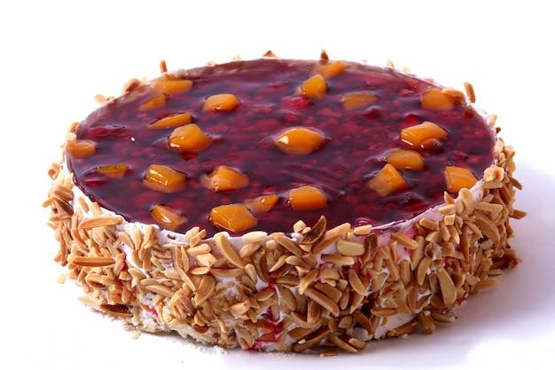 Десертный кекс с миндалем