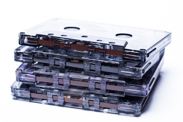 Старая мода магнитная аудиокассета