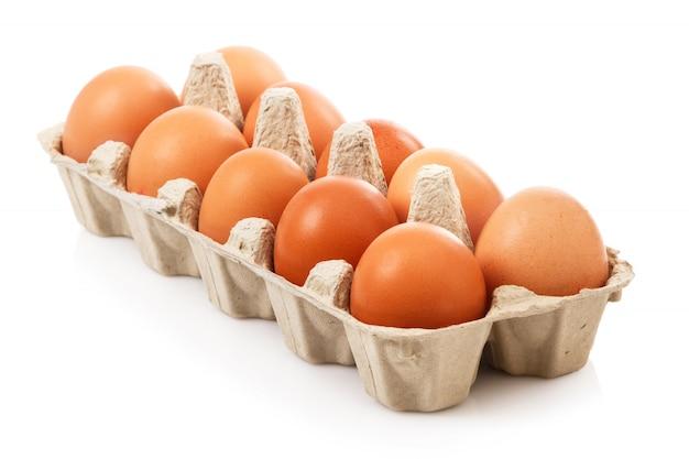 Пакет с яйцами