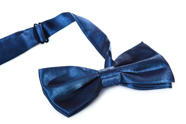 青い蝶ネクタイ