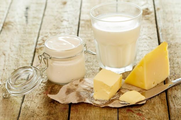 さまざまな乳製品