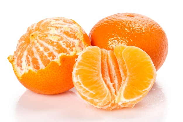 Свежие и сладкие манадрины