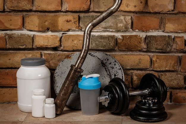 栄養補助食品とスポーツ用品