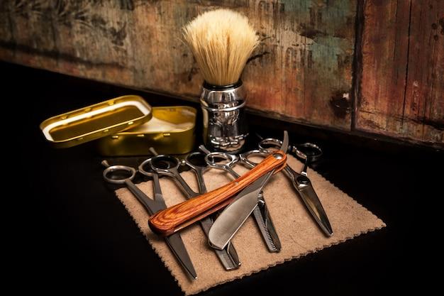 Различное оборудование в парикмахерской