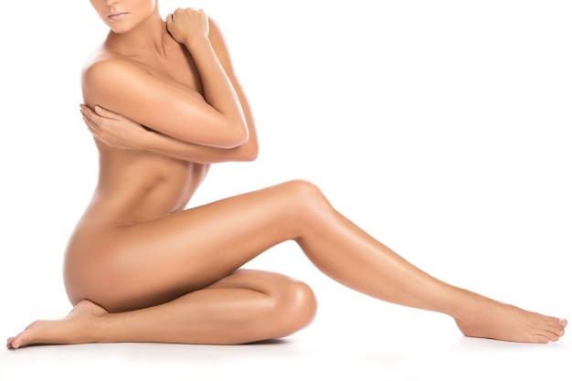 美しい女性の身体