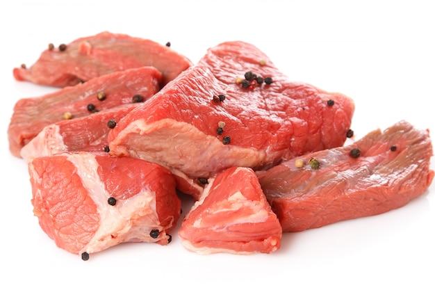 生肉とコショウ