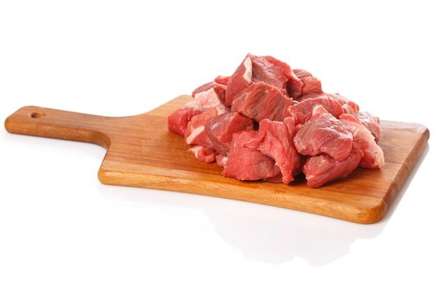 Сырое мясо на борту