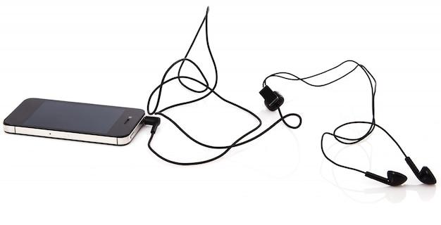 スマートフォンとヘッドセット
