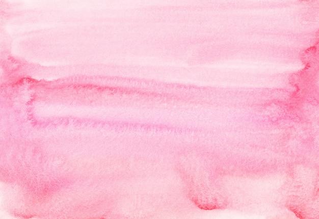 水彩の淡いピンクの背景の絵。水の色パステルフクシア液体テクスチャオーバーレイ。