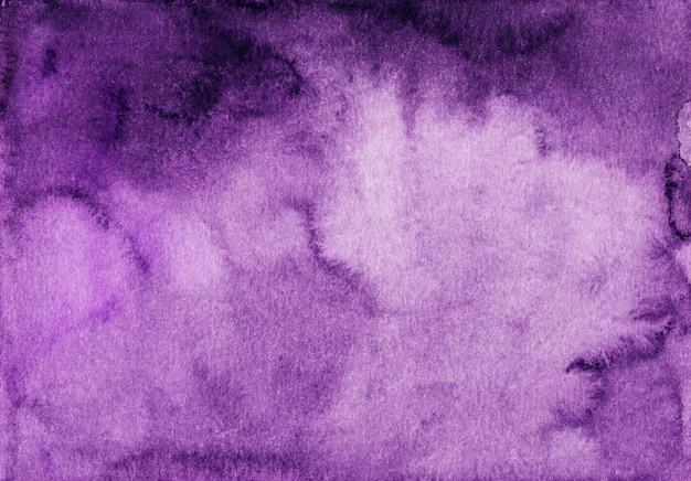 水彩の深い紫色の背景グラデーションテクスチャ