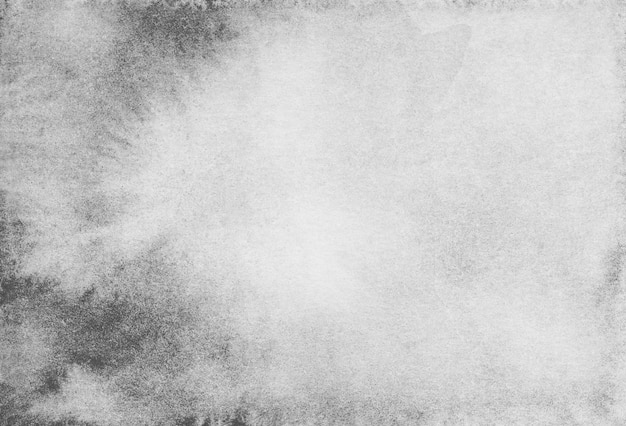 Акварель белый и черный градиент фоновой текстуры