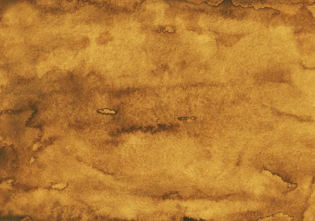 Акварель старое золото цвет фона картины
