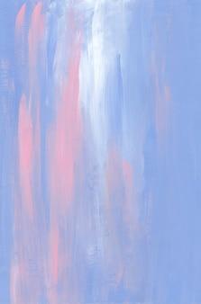抽象的な水色、ピンクと白の背景テクスチャ。柔らかいパステルオイルの背景。