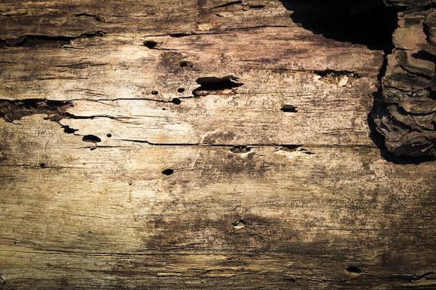 非常に古い、高齢者の天然木穴ビンテージ背景