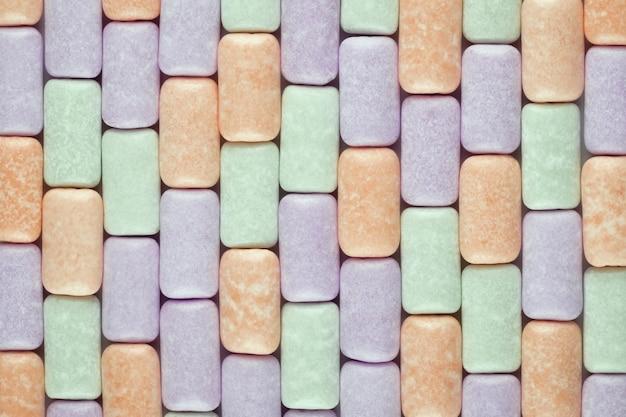 Жевательная резинка текстурированный фон