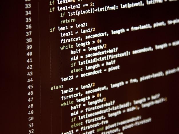 抽象プログラミングコード