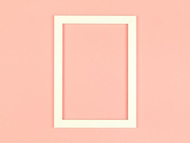 Пустая рамка на текстурированном фоне пастельных тонов