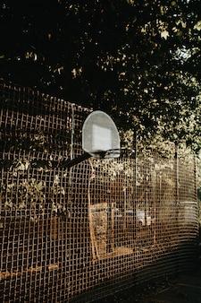 ヴィンテージトーンのバスケット