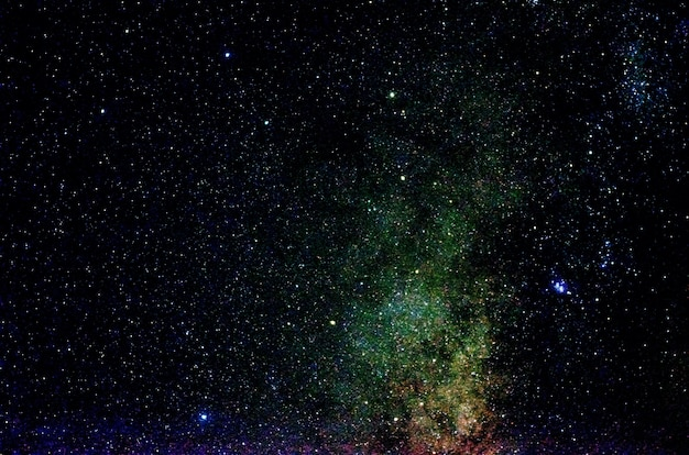 Звезды и галактика космическое пространство небо ночная вселенная черный звездный
