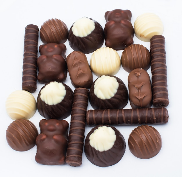 おいしいチョコレートプラリネ