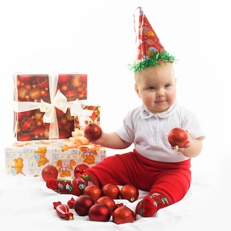 Ребенок в рождество