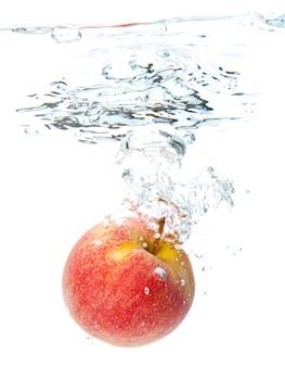 水にリンゴ