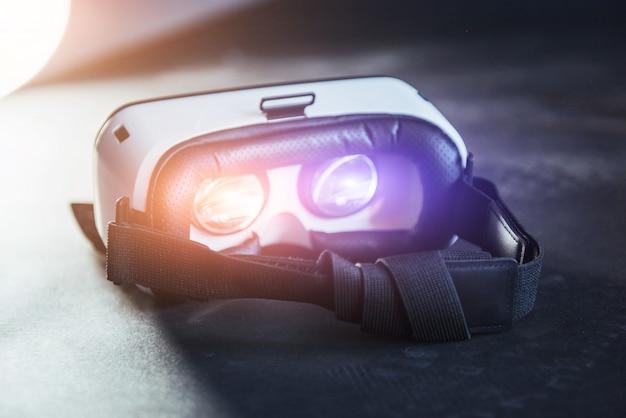 分離された仮想現実の眼鏡