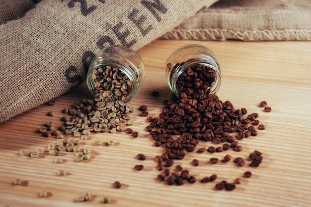 黄麻布から作られたコーヒーバッグのチーズ緑豆