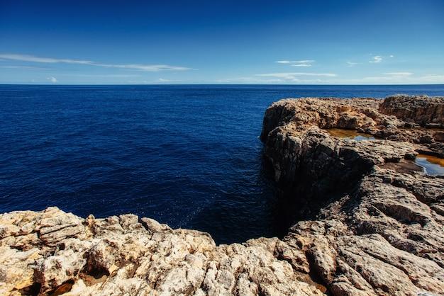 自然保護区モンテコファノの素晴らしい景色