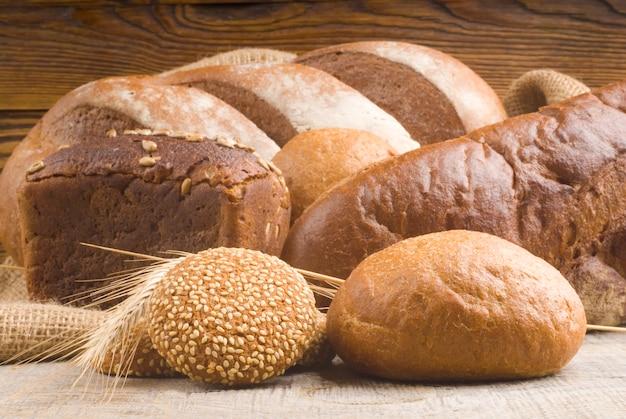 Ассортимент печеного хлеба
