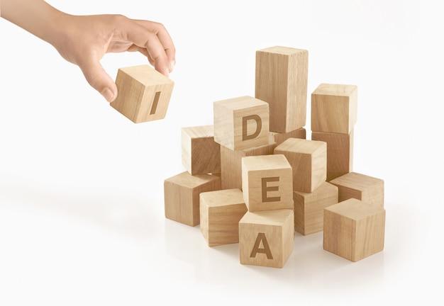創造性とアイデアのコンセプト