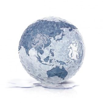 Лед земной шар