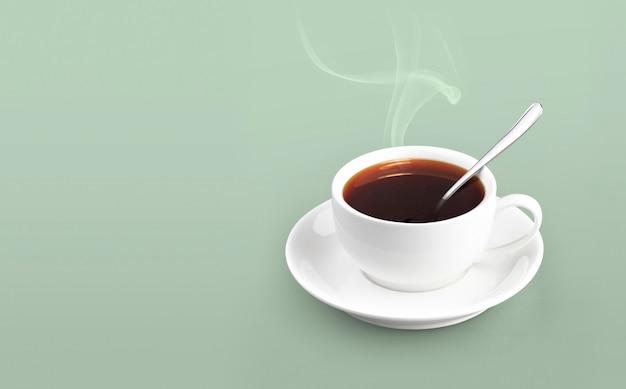 固体色のコーヒーカップ