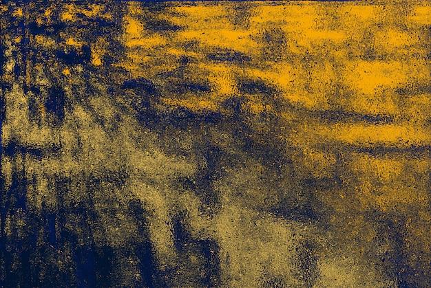 壁に描かれた抽象的な背景、表面の色の変化。