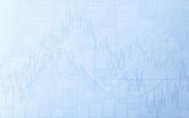 グラフと抽象的な財務チャート