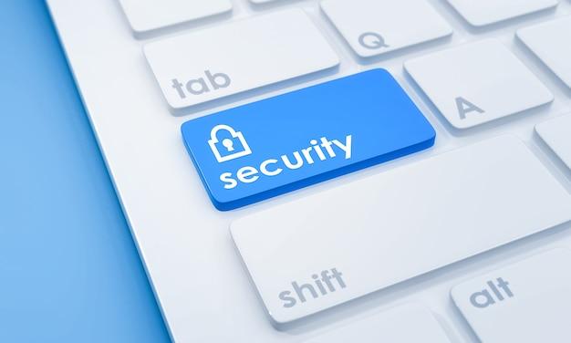 セキュリティボタン付きキーボード